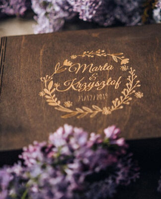 Wooden photo boxes